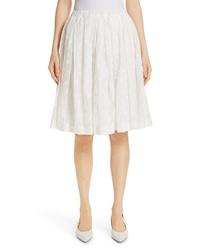 Mansur Gavriel Embroidered Skirt