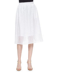 Geo lace eyelet full skirt medium 451339