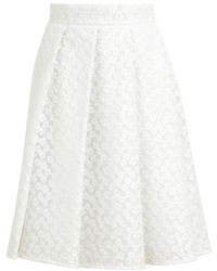 J.W.Anderson Jw Anderson Floral Lace Pleated Skirt