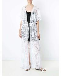 Amir Slama Crochet Kimono