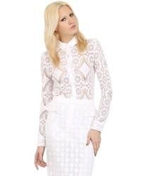 Burberry Cotton Lace Shirt