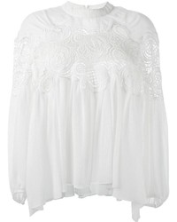 Chloé Lace Detail Top