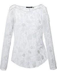 Isabel Marant Floral Lace Blouse