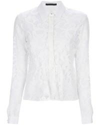 Pinko Lace Button Down Shirt