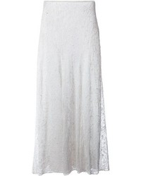 Isabel Marant Floral Lace Maxi Skirt