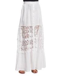 Kimora lace inset maxi skirt medium 3749963
