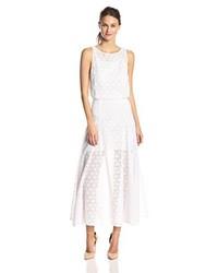 Rebecca Minkoff Dina Lace Midi Dress