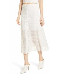 Lace midi skirt medium 6991050