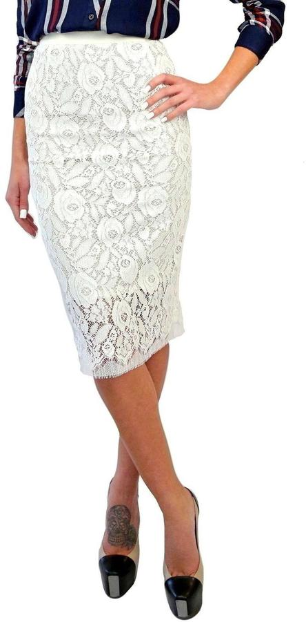 Smythe Lace Pencil Skirt | Where to buy & how to wear