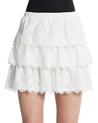 BCBGMAXAZRIA Justina Tiered Mini Skirt