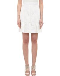 J. Mendel Jacquard Lace Skirt