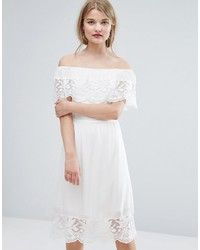 Off the shoulder lace dress medium 3748881