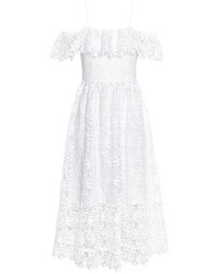H&M Off The Shoulder Lace Dress