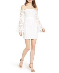 Endless Rose Off The Shoulder Lace Minidress