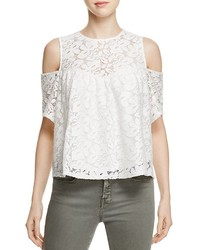 Alison Andrews Cold Shoulder Lace Top