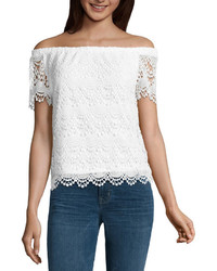 Ana Ana Lace Off The Shoulder Blouse