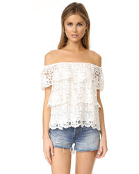 Miguelina Angelica Off The Shoulder Top