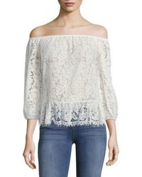 BCBGMAXAZRIA Britanee Off The Shoulder Top