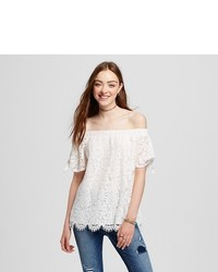 Miss Chievous Lace Off The Shoulder Top
