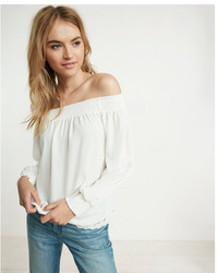 242e1f9e3a3 Women's White Off Shoulder Tops by Express | Women's Fashion ...