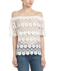 Freeway Off The Shoulder Lace Top
