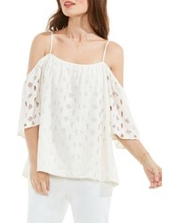 Petite off the shoulder lace top medium 3760954