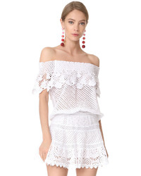 Temptation Positano Lace Off The Shoulder Blouse