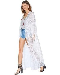 Nasty gal reverse stevie nicks kimono medium 63513