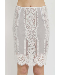 1 Funky Lace Pencil Skirt