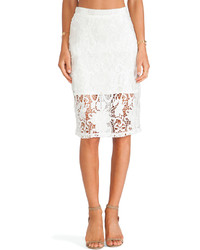 Alexis Larissa Lace Pencil Skirt