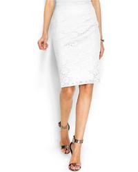 Alfani Lace Pencil Skirt