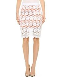 Rebecca Minkoff Angelica Lace Pencil Skirt