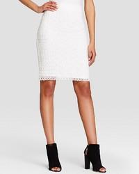 Calvin Klein Eyelet Pencil Skirt