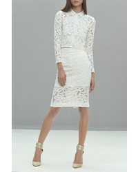 Cesar Lace Pencil Skirt