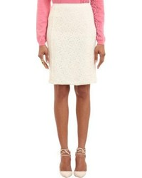Nina Ricci Dentelle Lace Pencil Skirt