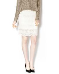 Gina Louise Scalloped Pencil Skirt
