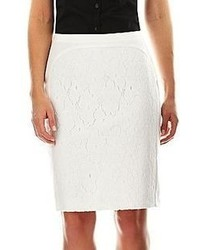 jcpenney Worthington Lace Front Pencil Skirt