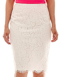 Liz Claiborne Lace Pencil Skirt