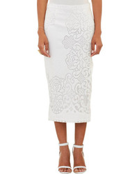 A.L.C. Lucas Lace Pencil Skirt