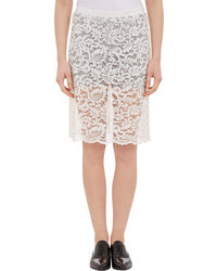 Sacai Luck Lace Pencil Skirt