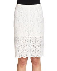 Sacai Lace Pencil Skirt