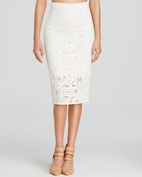Rebecca Taylor Skirt Lace Pencil