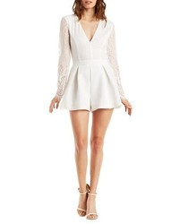 5d75da4741e Women s White Lace Jumpsuits from Charlotte Russe