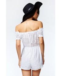 82838af46ef ... Lace Playsuits Kendall Kylie Short Sleeve Off Shoulder Romper Kendall  Kylie Short Sleeve Off Shoulder Romper ...