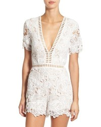 Ladder inset lace romper medium 3753259