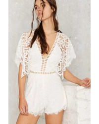 Factory Love Ladder Lace Romper