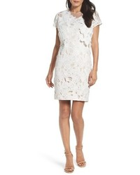 Adrianna Papell Cecila Lace Sheath Dress Jacket Set