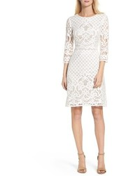 Gabby Skye Placet Lace Sheath Dress
