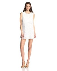 BCBGMAXAZRIA Amelie Sleeveless Lace Shift Dress