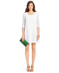 Diane Von Furstenberg Dvf Martina Geometric Lace Shift Dress